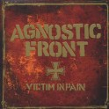 AGNOSTIC FRONT - Victim In Pain - Grey/White Splatter LP Gatefold