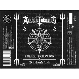ARKHON INFAUSTUS - Triple Injection - Beer 33cl 8.4° Alc