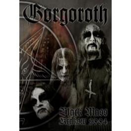 GORGOROTH - Black Mass Krakow 2004 - DVD Box Metal