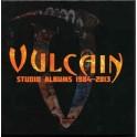 VULCAIN - Studio Albums 1984-2013 - Box 8-CD