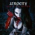"""ATROCITY - Spell Of Blood - 7"""" Ep Bleu"""