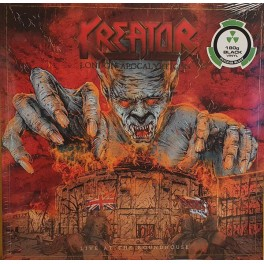 KREATOR - London Apocalypticon (Live At The Roundhouse) - 2-LP Noir Gatefold