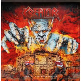 KREATOR - London Apocalypticon (Live At The Roundhouse) - 2-LP Clear/Black Splatter Gatefold