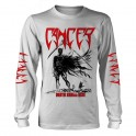 CANCER - Death Shall Rise -  White LS