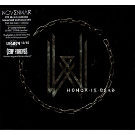 "WOVENWAR - Honor Is Dead - BOX CD + DVD Digibook + 7""Ep + Goodies"