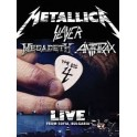 METALLICA SLAYER MEGADETH ANTHRAX - The BIG 4 - 2-CD BLU RAY