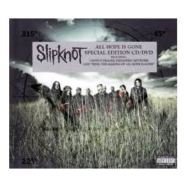 SLIPKNOT - All hope Is Gone - CD + DVD