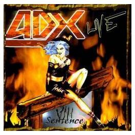 ADX - VIII Sentence - LIVE - CD Digibook
