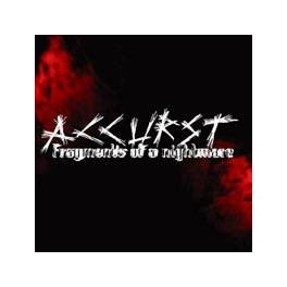 ACCURST - Fragments Of A Nightmare - CD