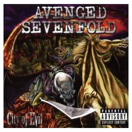 AVENGED SEVENFOLD - City of evil - CD