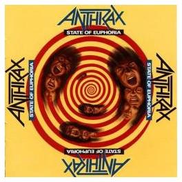 ANTHRAX - State Of Euphoria - CD