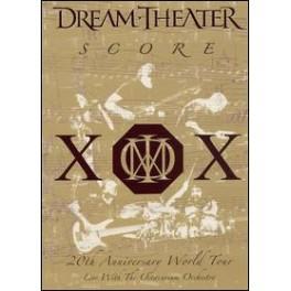 DREAM THEATER - Score:XOX - 20th Anniversary World Tour... 2-DVD