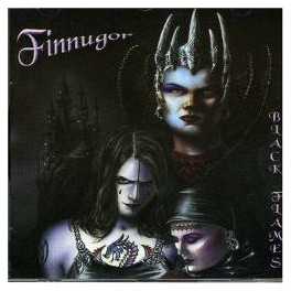 FINNUGOR - Black Flames - CD