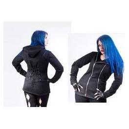 Woman Hooded Zipper DUNNE