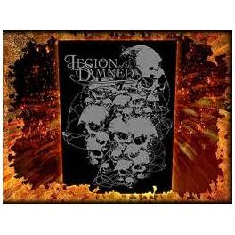 LEGION OF THE DAMNED - Skulls - Dossard