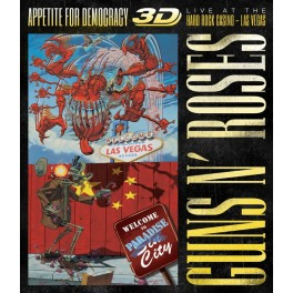 GUNS N' ROSES - Appetite For Democracy Live at the Hard Rock Casino Las Vegas - BLU RAY + 2-CD