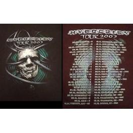 HYPOCRISY - Tour 2003 - LS