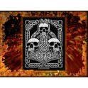 Patch AMON AMARTH - Three Skulls