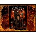 SLAYER - Devil On Throne - Dossard