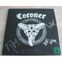 CORONER - Autopsy - The Years 1985-2014 In Pictures - LP Gatefold + 3 Blu-ray