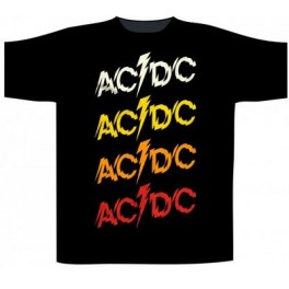 AC/DC - Powerage Repeat Logo - TS
