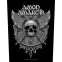 AMON AMARTH - Skull & Axes - Backpatch