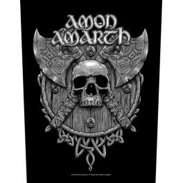 AMON AMARTH - Skull & Axes - Dossard