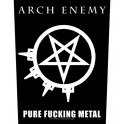 ARCH ENEMY - Pure Fucking Metal - Backpatch