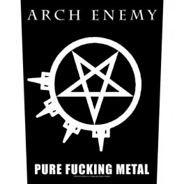 ARCH ENEMY - Pure Fucking Metal - Dossard