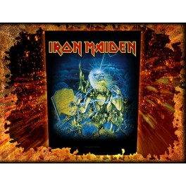 IRON MAIDEN - Life After Death - Dossard