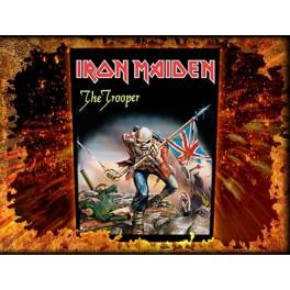 IRON MAIDEN - The Trooper - Dossard