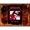 METALLICA - Kill 'Em All - Dossard
