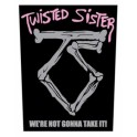TWISTED SISTER - We're Not Gonna Take It ! - Dossard