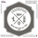 JAMBINAI - Bière Blanche au Soju 33cl 4.7° Alc