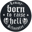 LEMMY - Born To Raise Hell - Backpatch Circular