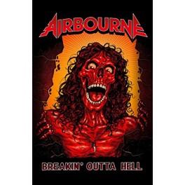 AIRBOURNE - Breakin' Outta Hell - Drapeau