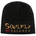 SOULFLY - Fuckin' Savages Logo - Bonnet