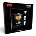 AC/DC - HELLS BELLS - Flasque + 2 Shots