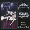 ABIGAIL / DULVEL - Satan, Bitches & Rock 'n' Roll - Split CD