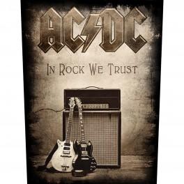 AC/DC - In Rock We Trust - Dossard