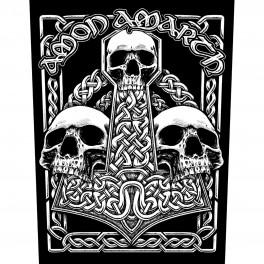 AMON AMARTH - Three Skulls - Dossard