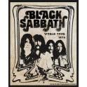 Patch BLACK SABBATH - Band / World Tour 1978