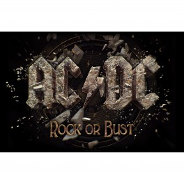 AC/DC - Rock Or Bust - Drapeau