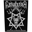 GRAVELAND - In The Glare Of Burning Churches - Backpatch