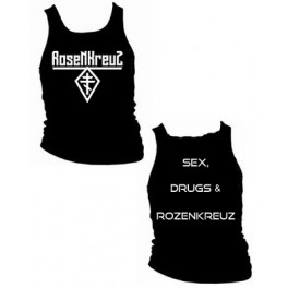 ROSENKREUZ - Logo / Sex, Drugs & Rosenkreuz - TANK Girly