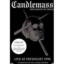 CANDLEMASS - Documents Of Doom - 2-DVD