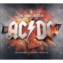 AC/DC TRIBUTE - The Many Faces Of AC/DC - 2-LP  Rouge Gatefold