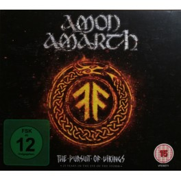 AMON AMARTH - The Pursuit Of Vikings (25 Years In The Eye Of The Storm) - Blu Ray + CD Digi