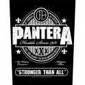 PANTERA - Stronger Than All - Dossard