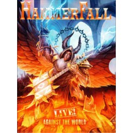 HAMMERFALL - Live !   Against The World - 2-CD + Blu-Ray Digi